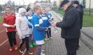 Srebrne medale naszych dziewcząt z SP Miłki-1
